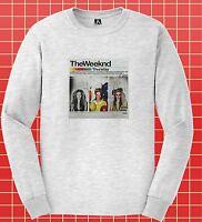 Weeknd Long Sleeve T-shirt Thursday EP Retro Tee XO Legend Fall Tour Starboy Top