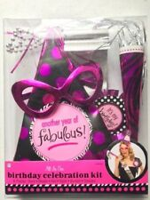 Birthday Celebration Kit Another Year of Fabulous 6 Pieces Over The Hill