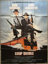 Affiche COUP DOUBLE Tough Guys BURT LANCASTER Kirk Douglas TRAIN 120x160cm *
