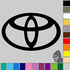 "2x Toyota Badge Logo 3""! GLOSS or MATTE! Vinyl Decal Sticker Car, Van, Laptop!!!"