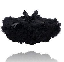 BLACK KIDS CHILDRENS TUTU LUXURY DELUXE 7-9 YEARS DANCE BALLET FANCY DRESS UK