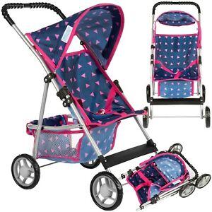 Puppenwagen Puppenbuggy Kinderwagen KP0280T Buggy Kinderplay Neu Baby Spielzeug