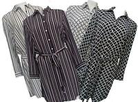 Saloos Shirt Dress Striped_Abstract