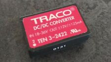 TRACO TEN3-2422 DC/DC Wandler In 18-26V Out +-12V 3W