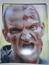 Michael Mundy The Walking Dead Signed Autographed Authentic 8x10 Photo Walker #2