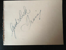 PASQUALE TROISE - DANCE BAND LEADER & MUSICIAN - SIGNED VINTAGE ALBUM PAGE