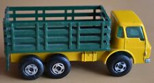 Matchbox Lesney Superfast No 4 Yellow Dodge Stake Truck - Near Mint