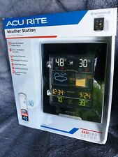 AcuRite Weather Station With Color Display Easy 1 2 3 Setup NEW