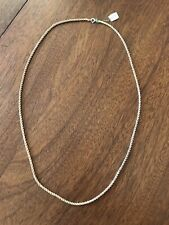 VTG  I. Magnin 12kt Gold Filled Diamond Cut Rope Chain 70s