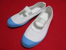New Autentic Japanese school shoes Sky Blue size.us6 cosplay Uwabaki Uwagutsu
