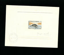 Cameroun 1962 Mantee Scott 366 Rare  Signed Sunken Die Colored Artist Proof