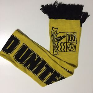 Southend United Playoff Victory Scarf Yellow And Black