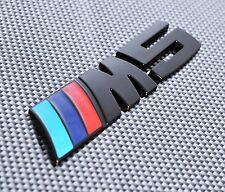 M5 DECAL BLACK METAL 3D EMBLEM BADGE STICKER FOR BMW 5 SERIES M5