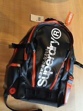SUPERDRY NWT  Backpack Black/orange