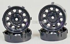 Tetsujin SUNFLOWER RC Car 1/10 WHEELS BLACK Adjustable Offset  3-6-9mm -4 RIMS