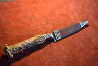 Altes Jagd und Trachten Lederhosen >Messer