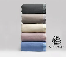 Australian Wool Blanket by BIANCA Single %7cDouble%7c Queen %7c King%7c Super King %7c Cot