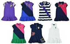 Polo Ralph Lauren Little Girls' Crest Logo Rugby Dress