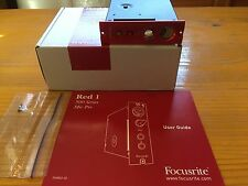 Focusrite Red 1 - 500 Series Mic Preamp-Microphone Preamplifier