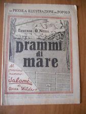 PICCOLA ILLUSTRAZIONE del POPOLO 10/1932 Eugenio O'Neill DRAMMI DI MARE