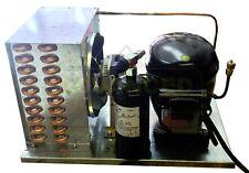 NEW Air-Cooled Multi-Temp Condensing Unit 1/3 HP, R134a, 115V (Embraco FFI12HBX)