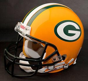 BRETT FAVRE Edition GREEN BAY PACKERS Riddell REPLICA Football Helmet