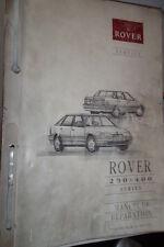 Rover séries 200 - 400 1992 : MANUEL D'ATELIER