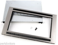NEW Frigidaire Stainless Steel 30 Inch Built-In Microwave Trim Kit MWTK30KF