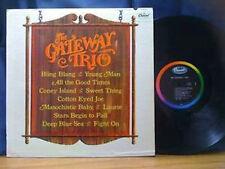 GATEWAY TRIO-ST US Orig Capitol Black/Rainbow mono LP