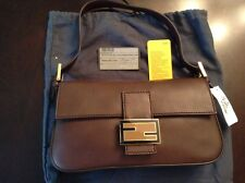Fendi Baguette Shoulder Bag Color Brown