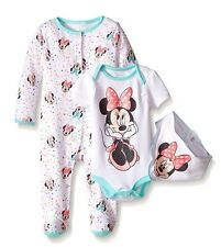 Disney Baby Minnie Mouse 3 PC Set With Bib 6/9 Months With Tag