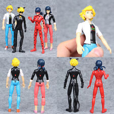 14cm Miraculous Ladybug Action Figure Toys Adrien Marinette Plastic Doll Gifts
