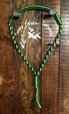 Turkey / Deer / Duck / Predator Call Paracord Lanyard neon green&black Hand Made