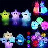 Cute 7 Colors Changing LED Night Light Decoration Candle Lamp Nightlight Holiday
