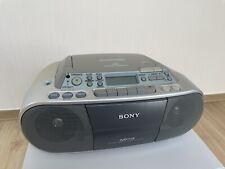 Sony CFD-S03CPL tragbar, CD MP3 Player, Radio, Cassetten-Recorder