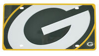 New NFL Green Bay Packers Full Acrylic Automotive Gear Car Truck License Plate
