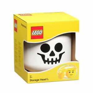 LEGO SKELETON STORAGE HEAD LARGE BOYS BRAND NEW IN BOX FREE P&P HALLOWEEN