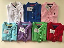 Polo Ralph Lauren Girls Polo Shirt 2T,3T,4T,5,6