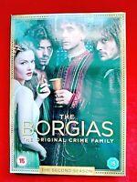 THE BORGIAS - SEASON 2 - DVD - ( 4 DISC ) - VGC
