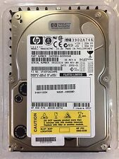 "Fujitsu MAN3367MC 36.7GB 10K 3.5"" 80pin SCSI HDD HP:5065-7805 5065-5236"