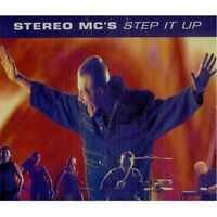 Stereo MC's Step it up (1992, incl. 'Lost in music [U.S. Remix]') [Maxi-CD]