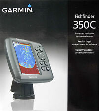"GARMIN Fishfinder 350c 5"" Color HD-ID Fishfinder, Free Transducer & Shipment !"