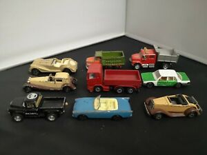 B955-DIECAST MIXED LOT OF NINE VEHICLES INCLUDING MAJORETTE,SIKU,TOMICA & MORE