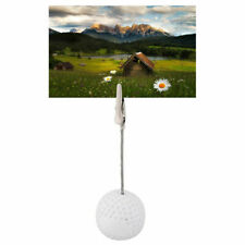 Golf Ball Paper Weight With Photo Business Card or Note Clip Desk Top Pack of 24