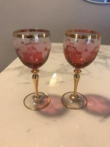 10 Stunning, Elegant Rose and Gold Wine Glasses