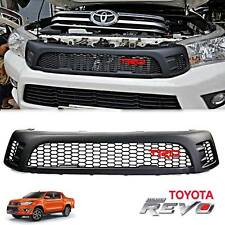 FRONT GRILLE GRILL BLACK TRD STYLE FOR TOYOTA HILUX REVO UTE SR5 M70 M80 2015-16