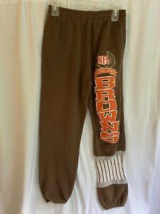 Vintage Cleveland Browns Nutmeg Sweatpants Medium Made in USA