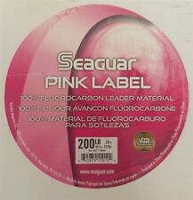 Seaguar Pink Label 100% Fluorocarbon Leader, 200 Lb 25 Yd New 200Lp25