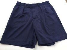 "Awesome Polo Golf By Raplh Lauren Blue  Men's Shorts Classic Fit 8.5"" Sz 35  B58"