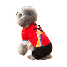 Chinese New Year Style Costume Clothes for Pet Dog